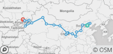 Kyrgyzstan & the Chinese Silk Route (Beijing to Bishkek) - 20 destinations