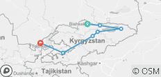 Mountain Kingdoms of Kyrgyzstan (Bishkek to Tashkent) - 7 destinations