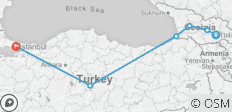 Turkey & Western Georgia (Tbilisi to Istanbul) - 6 destinations
