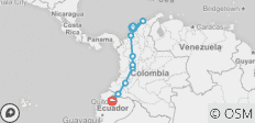 Colombia Discovery (Cartagena to Quito) - 10 destinations