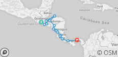 Central America Discovery (Antigua to Panama City) - 16 destinations