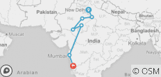 West Coast India & Rajasthan by Rail - 7 destinations