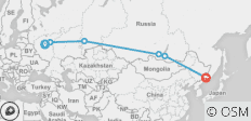 Epic Trans-Siberian Journey - 6 destinations