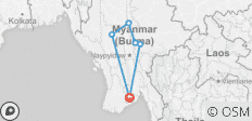Real Myanmar - 6 destinations