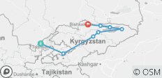 Mountain Kingdoms of Kyrgyzstan (Tashkent to Bishkek) - 8 destinations