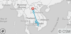 Cambodia & Laos Encounter - 7 destinations