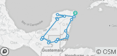 Little Mexico, Guatemala & Belize Adventure 14D/13N - 20 destinations