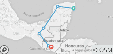 Mayan Trail - 6 destinations