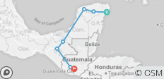 Mayan Trail - 7 destinations