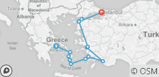 Greeks and Turks Ways (from Athens) - 14 destinations
