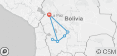 Complete Bolivia Ways (from La Paz) - 7 destinations