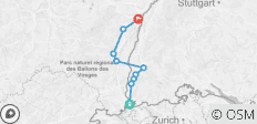 Basel to Strasbourg by Bike - 9 destinations