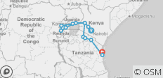 Ultimate East Africa - 14 destinations