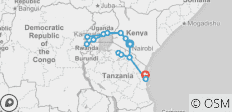 Ultimate East Africa - 16 destinations