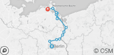 Berlin Bike & Barge - 13 destinations