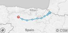 Spanish Camino by Bike: The Pyrenees to Leon - 10 destinations