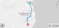 Der Wicklow Way: Individualreise - 6 Tage - 6 Destinationen