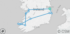 7 Day South - West Ireland Tour - 13 destinations