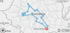 Dracula beyond the legend - Eight days tour in Transylvania - 18 destinations