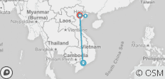 Package Tour Crossing Vietnam 5Days/4Nights - 5 destinations