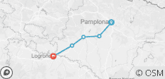 Camino - Pamplona to Logrono - 5 destinations