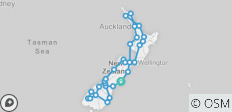 Ultimate Explorer from Christchurch (28 days) - top rated by National Geographic - 32 destinations