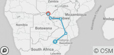 African Insight Safari (from Johannesburg) - 6 destinations