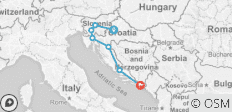Western Balkans Discovery - 7 days - 7 destinations