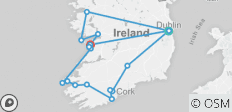 The Grand Tour of Ireland - 7 Days - 17 destinations