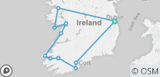 7 day The Grand Tour of Ireland (small group  tour) - 12 destinations