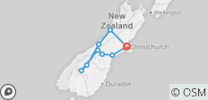Stray - Short Q (South Island)  - 9 destinations