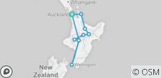Stray - Jill Pass (North Island) - 10 destinations