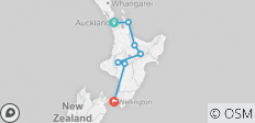 Stray NZ - Short Jill Pass (Auckland - Wellington) - 7 destinations