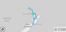 Stray NZ - Jonah Pass (North Island) - 13 destinations