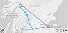 West Highland Way Adventure - 9 destinations