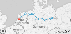 From Berlin to Amsterdam - 14 destinations