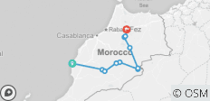 Combined Morocco Tour -10 Days - 11 destinations
