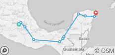 Orale Bamba Express Ways (from Mexico City) - 11 destinations