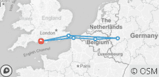 Belgium & Germany - From Bournemouth - 6 destinations