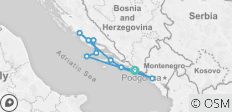 Croatia and Montenegro (port-to-port cruise) - 10 destinations