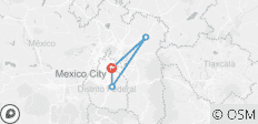 Mexico City - 3 Days - 4 destinations