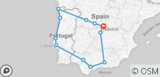 Highlights of Spain & Portugal - 9 Days - 12 destinations