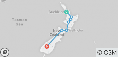 NZ MTB Dreamer Tour - 7 destinations