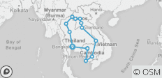 Khao Chao Express Ways (from Bangkok / Clockwise) - 15 destinations