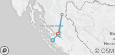 Croatia: Hike, Bike & Kayak - 7 destinations