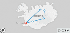 Iceland Circle - 8 Days - 6 destinations