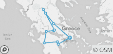 Ancient Greece Adventure 4D/3N - 11 destinations