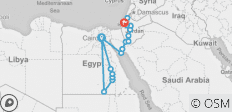 Egypt, Jordan, Israel & the Palestinian Territories - 17 destinations
