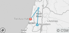 Discover Israel & the Palestinian Territories - 3 destinations