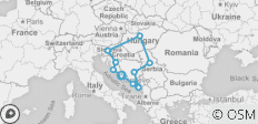 Best Of Balkans (Start Split, 15 Days) - 12 destinations